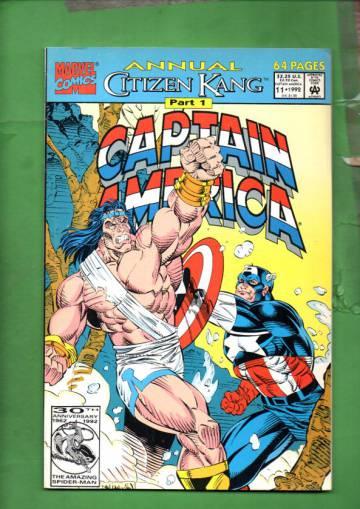 Captain America Annual Vol 1 #11 92