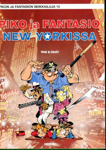 Pikon ja Fantasion seikkailuja 15 - Piko ja Fantasio New Yorkissa