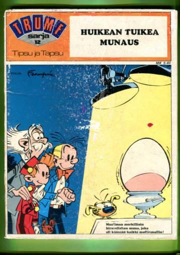 Trumf-sarja 12 - Tipsu ja Tapsu: Huikean tuikea munaus (Piko ja Fantasio)
