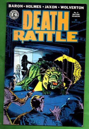 Death Rattle 5 / June 1986
