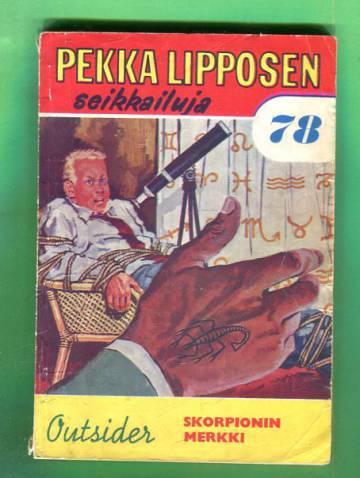 Pekka Lipposen seikkailuja 78 (6/63) - Skorpionin merkki