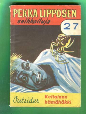 Pekka Lipposen seikkailuja 27 - Keltainen hämähäkki