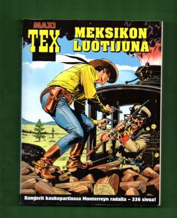 Maxi-Tex 9 - Meksikon luotijuna (Tex Willer)