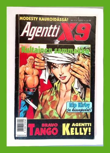 Agentti X9 9/94 (Modesty Blaise)