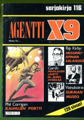 Semicin sarjakirja 116 - Agentti X9