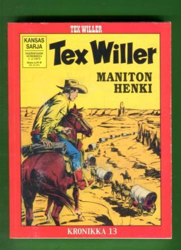 Tex Willer -kronikka 13 - Maniton henki & Texin menneisyys