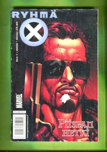 X-Men 1/05 (Ryhmä-X)