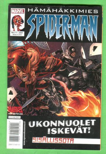 Hämähäkkimies 11/07 (Spider-Man)