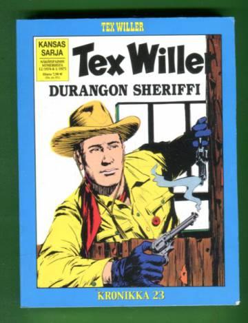 Tex Willer -kronikka 23 - Durangon sheriffi & Kuoleman kukka