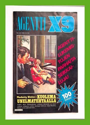 Agentti X9 2/85 (Modesty Blaise)