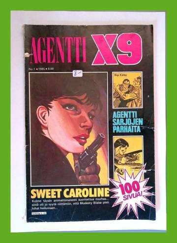 Agentti X9 1/85 (Modesty Blaise)