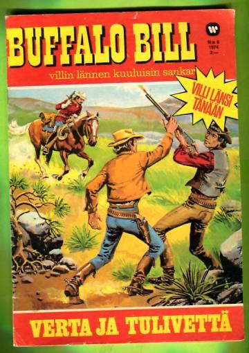 Buffalo Bill 8/74 - Verta ja tulivettä