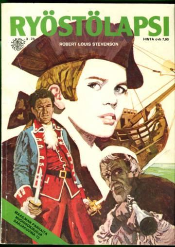 Sarjasuosikit 3/78 - Maailman parhaita nuorisokirjoja sarjakuvina 12: Ryöstölapsi