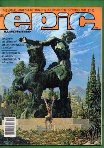 Epic #9 Dec 81
