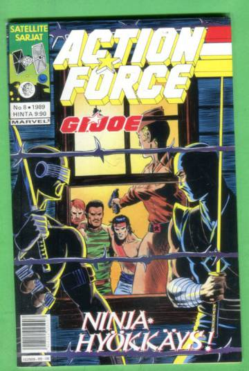Action Force 8/89