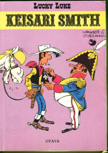 Lucky Luke 25 - Keisari Smith (1. painos)