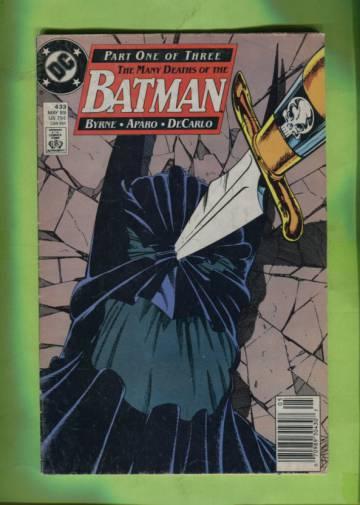Batman #433 May 89