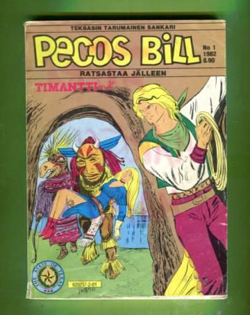 Pecos Bill 1/82 - Timanttiluola
