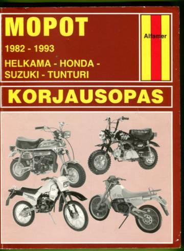 Mopot-korjausopas - 1982-93: Helkama, Honda, Suzuki, Tunturi