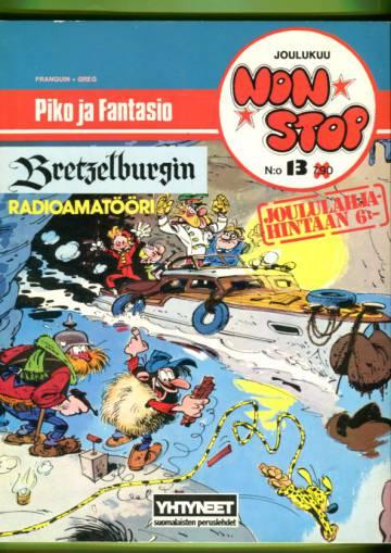 Non Stop 13 (albumi 10) - Piko ja Fantasio: Bretzelburgin radioamatööri