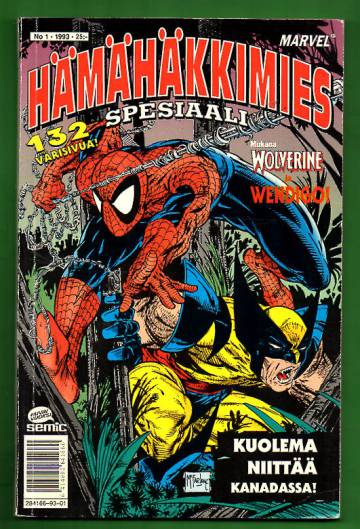 Hämähäkkimies-spesiaali 1/93 (Spider-Man)