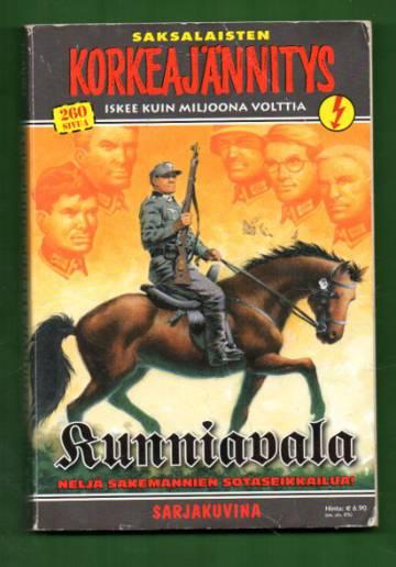 Korkeajännitys 3E/09 - Saksalaisten Korkeajännitys: Kunniavala