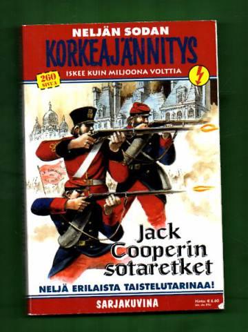 Korkeajännitys 6E/08 - Neljän sodan korkeajännitys: Jack Cooperin sotaretket