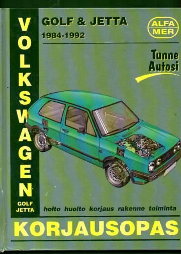 VW Golf & Jetta 1984-1992 korjausopas