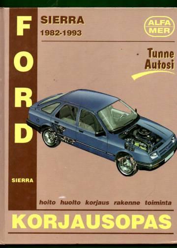 Ford Sierra 1982-1993 korjausopas