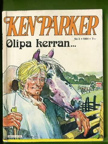 Ken Parker 3/84 - Olipa kerran...