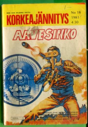 Korkeajännitys 18/81 - Aavesinko