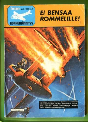 Ilmojen Korkeajännitys 2/88 - Ei bensaa Rommelille!