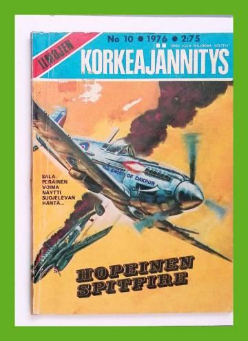 Ilmojen Korkeajännitys 10/76 - Hopeinen Spitfire