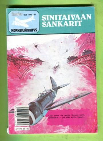 Ilmojen Korkeajännitys 5/90 - Sinitaivaan sankarit