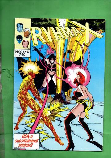 Ryhmä-X 10/86 (X-Men)
