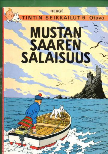 Tintin seikkailut 6 - Mustan saaren salaisuus (1. painos)