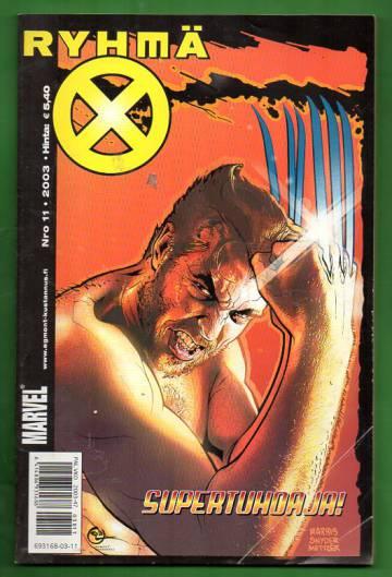 X-Men 11/03 (Ryhmä-X)