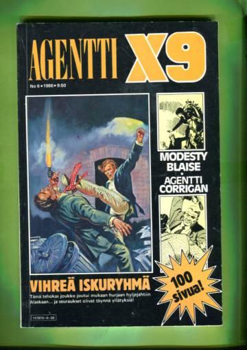 Agentti X9 6/86 (Modesty Blaise)