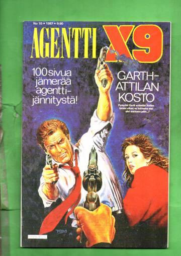 Agentti X9 10/87