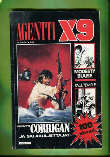 Agentti X9 1/87 (Modesty Blaise)