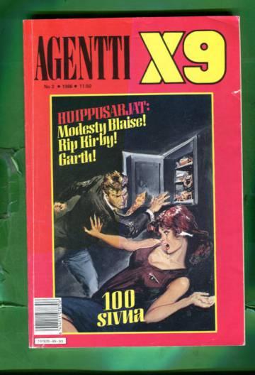 Agentti X9 3/89 (Modesty Blaise)