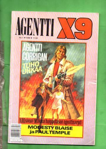 Agentti X9 1/89 (Modesty Blaise)