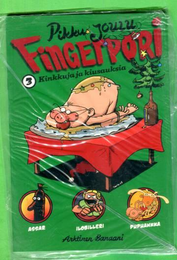 Pikkujoulu Fingerpori 3 - Kinkkua ja kiusauksia