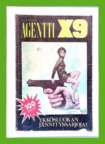 Agentti X9 5/83 (Modesty Blaise)