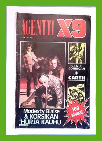 Agentti X9 7/86 (Modesty Blaise)