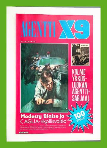 Agentti X9 3/85 (Modesty Blaise)