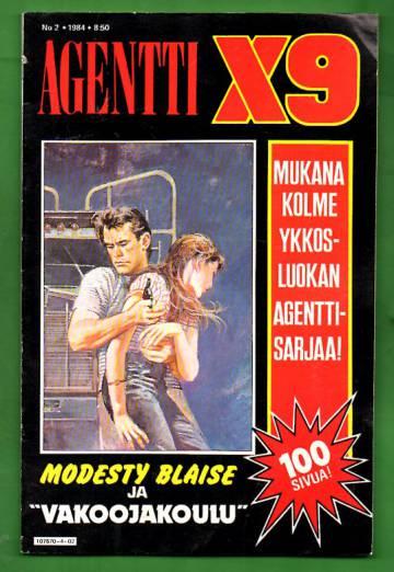 Agentti X9 2/84 (Modesty Blaise)