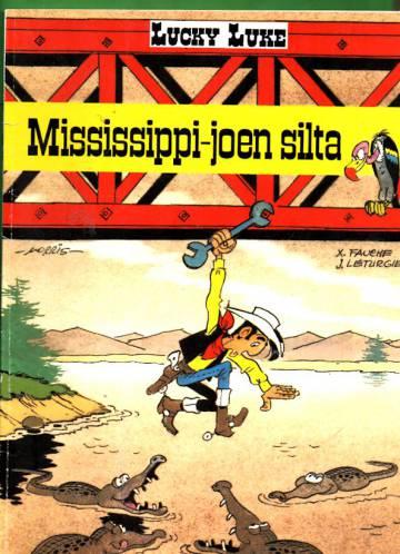 Lucky Luke 60  - Mississippi-joen silta (1.painos)