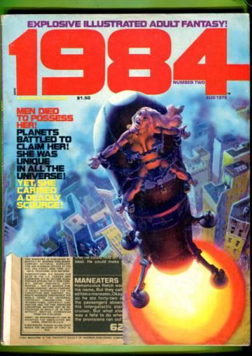 1984 Magazine #2 Aug 78