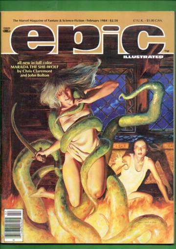 Epic #22 Feb 84